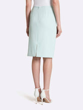 Load image into Gallery viewer, Plus Parker Twill Pencil Skirt