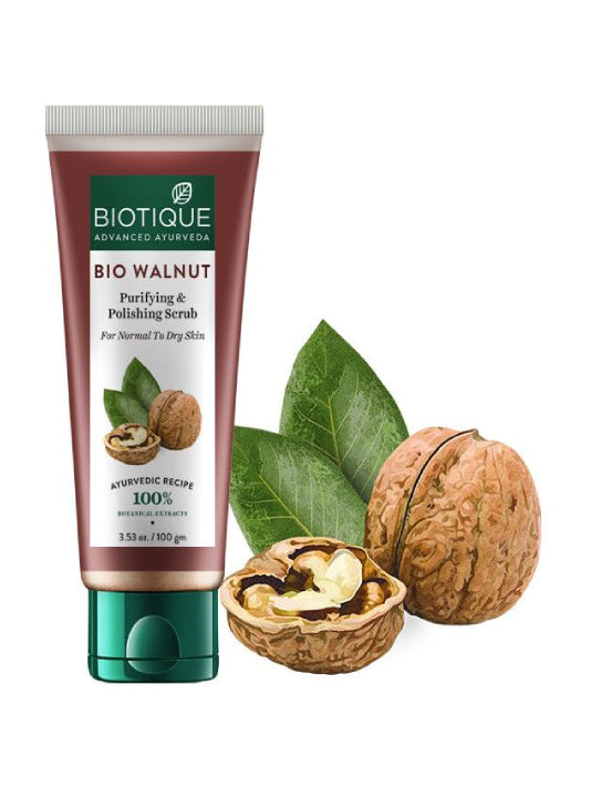 (Biotique) Bio Walnut Purifying & Polishing Scrub