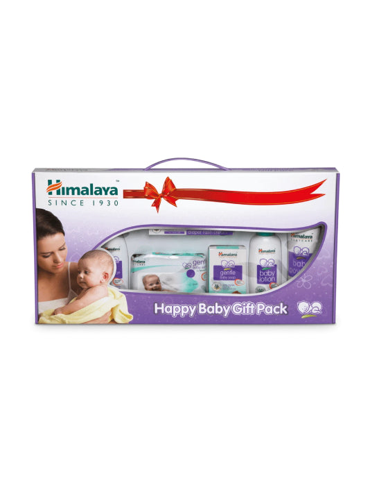 (Himalaya) Happy Baby Gift Pack – (7 in 1)
