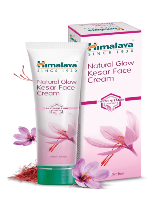 (Himalaya) Natural Glow Kesar Face Cream (50gm)