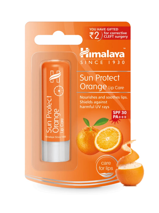 (Himalaya) Sun Protect Orange Lip Care