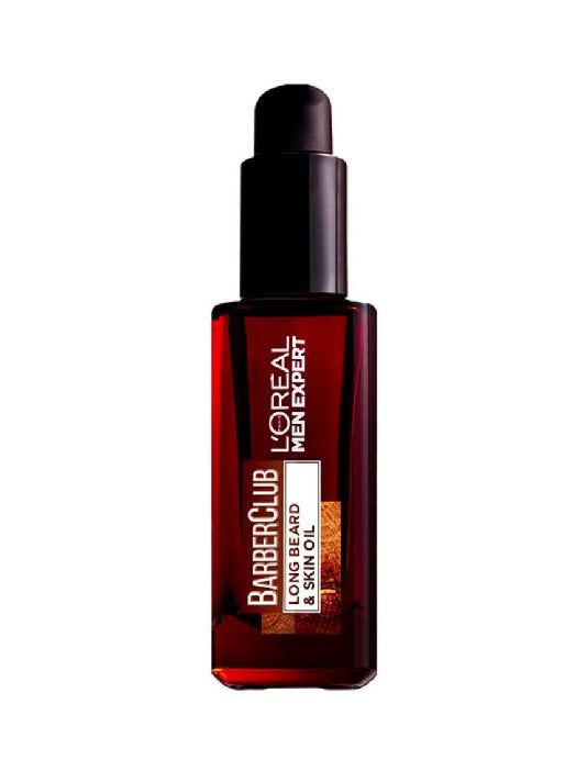 (L'Oreal Paris Men) Barberclub Long Beard & Skin Oil (30ml)