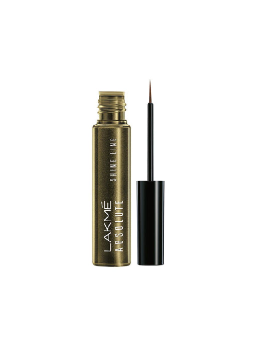 (Lakme)Absolute Shine Line Eyeliner - Liquid Gold (4.5ml)