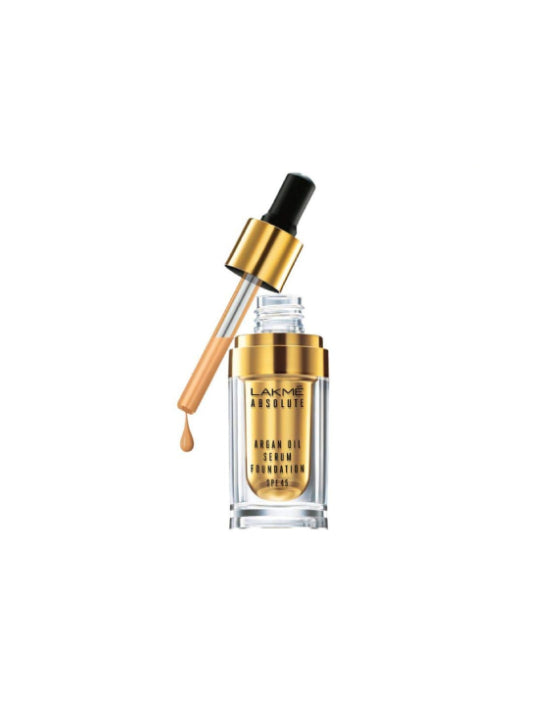 (Lakme) Argan Oil Serum Foundation with SPF 45 (15ml)