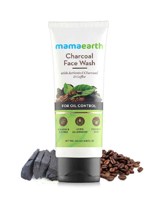 (Mamaearth) Charcoal Facewash (100ml)