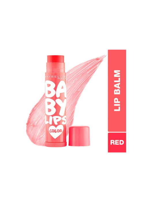 (Maybelline New York) Baby Lips Color - Cherry Kiss (4gm)