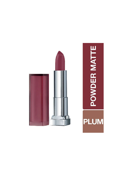 (Maybelline New York)  Color Sensational Powder Matte Lipstick - Honey Cherry (3.9gm)