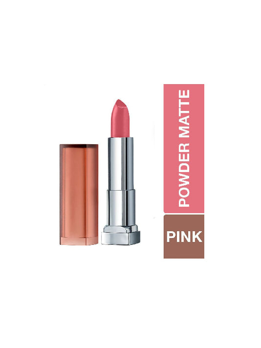 (Maybelline New York) Color Sensational Powder Matte Lipstick - Technically Pink (3.9gm)