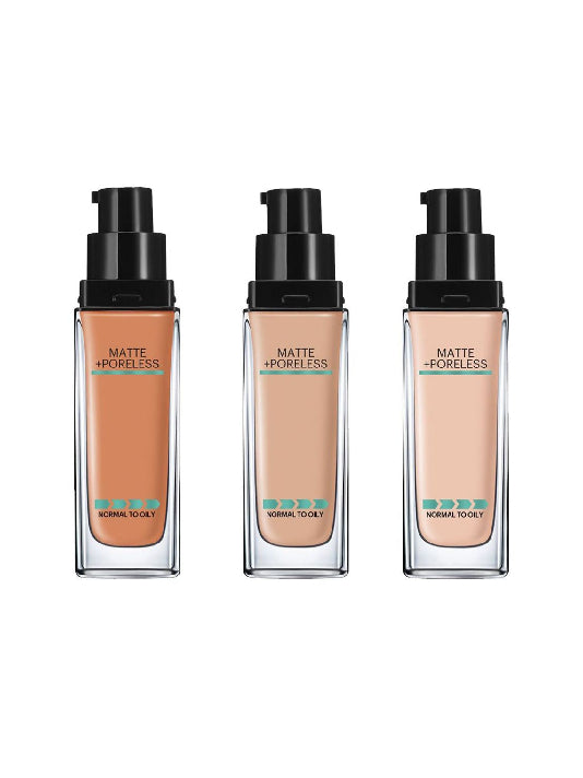(Maybelline New York)   Fit Me! Matte +Poreless Liquid Foundation (30ml)