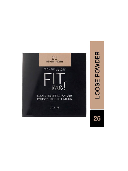 (Maybelline New York) Fit me! Loose Finishing Powder - 25 Medium (20g)