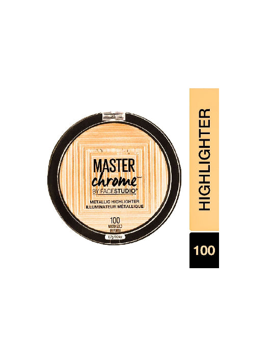 (Maybelline New York) Master Chrome Metallic Highlighter - Molten Gold (6.7gm)