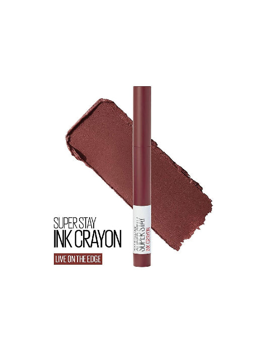 (Maybelline New York) Super Stay Crayon Lipstick - 05 Live On The Edge(1.2g)