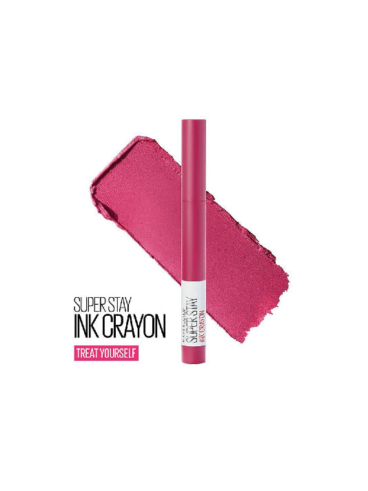 (Maybelline New York)  Super Stay Crayon Lipstick - 35 Treat Yourself(1.2g)