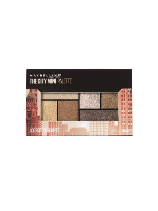 (Maybelline) New York City Mini Palette Eye Shadows-Rooftop Bronze(6.1g)