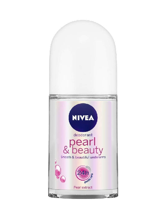 (Nivea) Pearl & Beauty Roll On For Women (50ml)