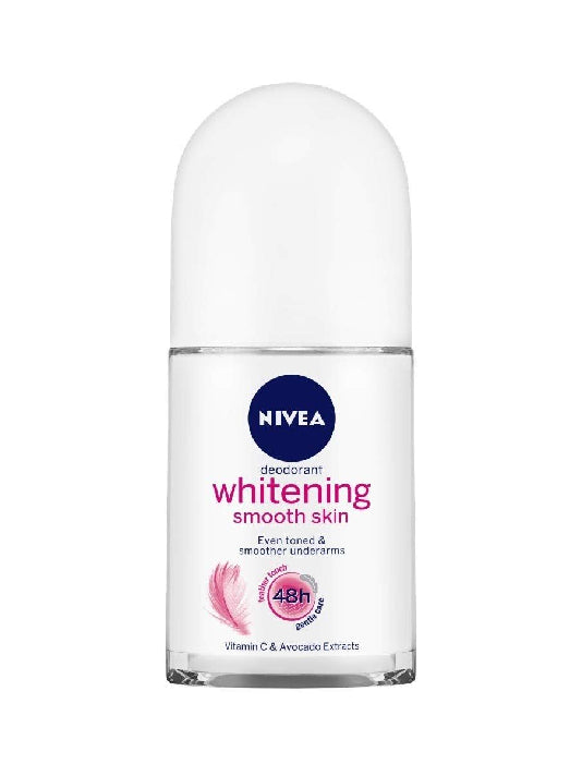 (Nivea) Whitening Smooth Skin Roll On For Women (50ml)