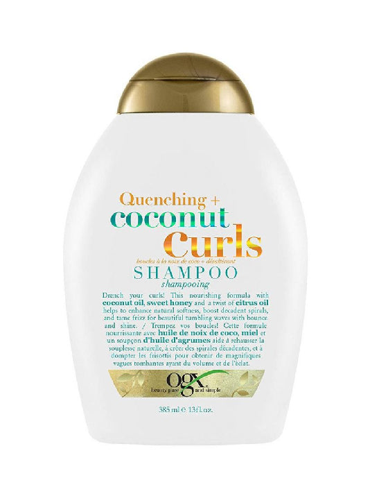 (OGX) Quenching + Coconut Curls Shampoo (385ml)