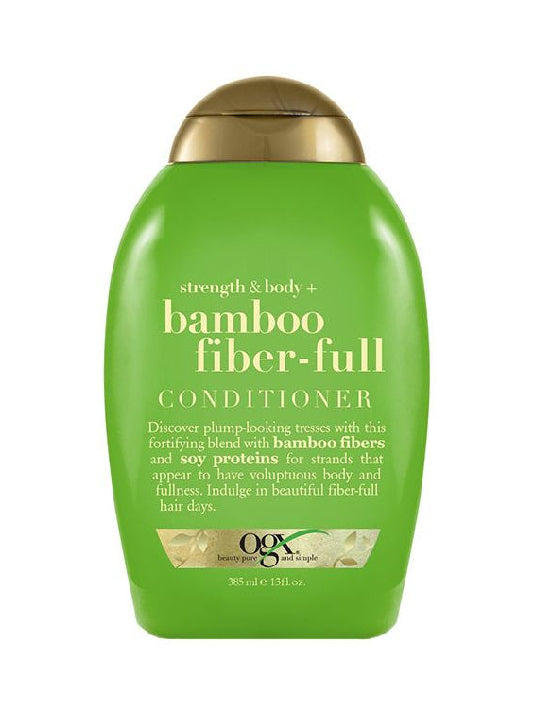 (OGX)Strength & Body + Bamboo Fiber-Full Conditioner (385ml)