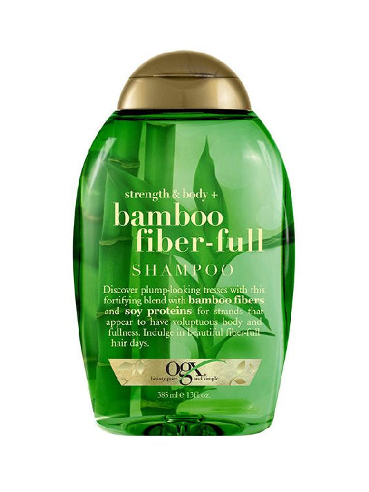 (OGX)Strength & Body + Bamboo Fiber-Full Shampoo (385ml)