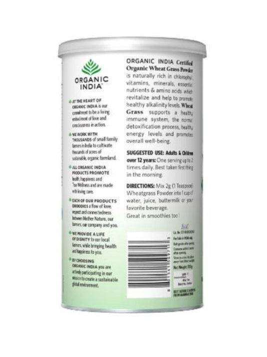 (Organic India) Wheat Grass (100kg)