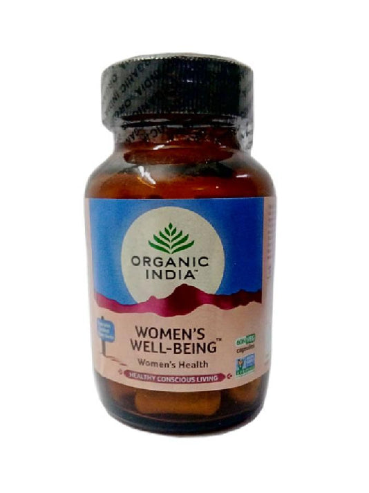 (Organic India) Womens Well-Being (60 Capsules Bottle)