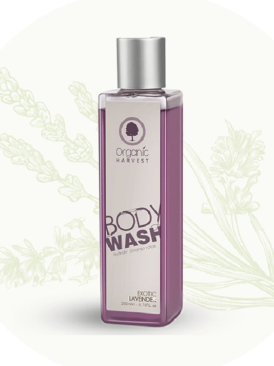 (Organic Harvest)Exotic Lavender Body Wash (200ml)