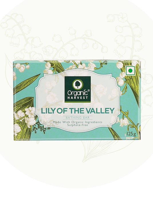 (Organic Harvest)Lily of the Valley Bathing Bar Soap (125gm)