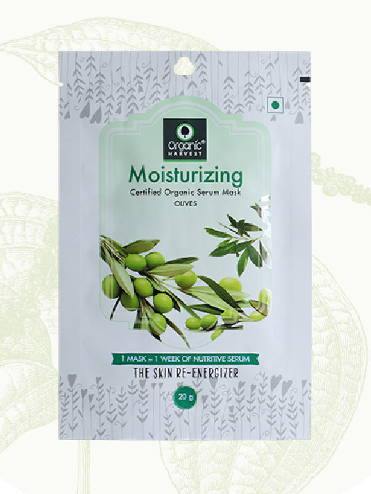 (Organic Harvest)Moisturising Sheet Mask (20gm)