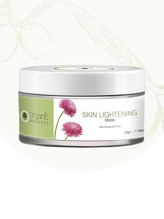 (Organic Harvest) Skin Lightening Mask (50gm)