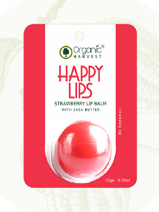 (Organic Harvest)Strawberry Lip Balm (10gm)