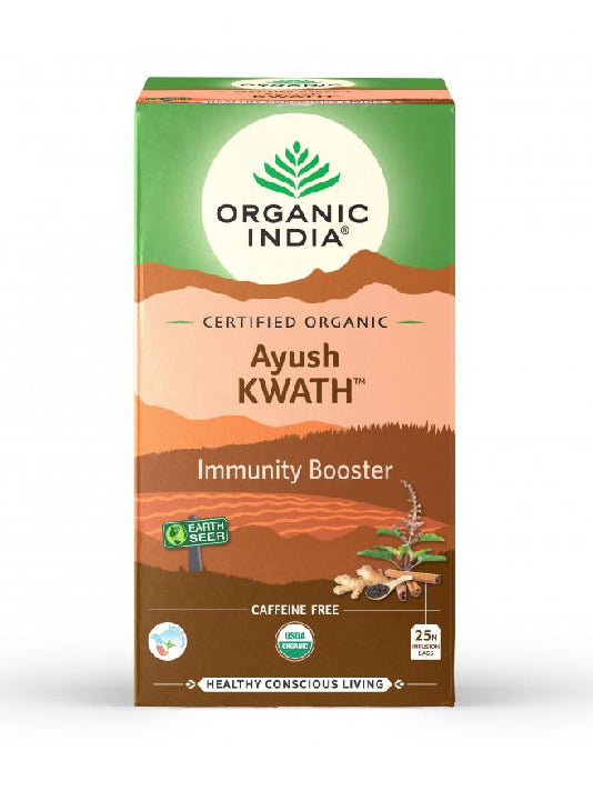 (Organic India) Ayush Kwath (25 Tea Bags)