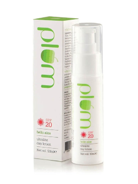 (Plum)Hello Aloe Ultra Lite Day Lotion SPF 20 (50ml)