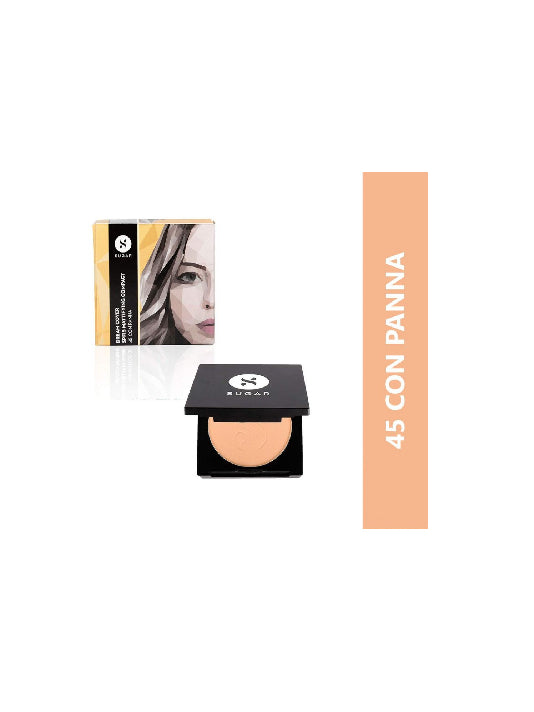 (Sugar)Dream Cover SPF15 Mattifying Compact - 45 Con Panna medium-deep(6g)