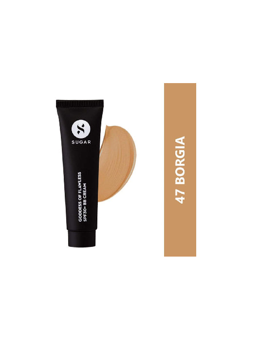 (Sugar)Goddess Of Flawless SPF30+ BB Cream - BB 47 Borgia-Medium Tan(25ml)