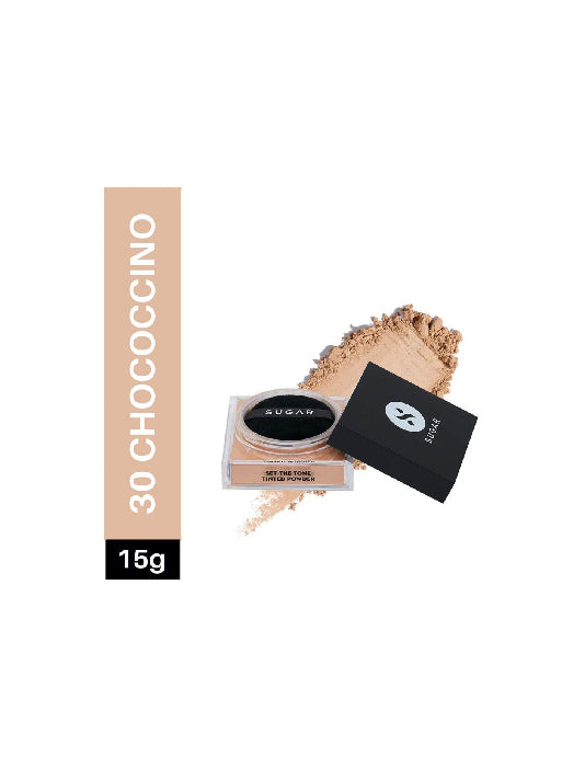 (Sugar) Set The Tone Tinted Powder - 30 Chococcino Medium(15g)