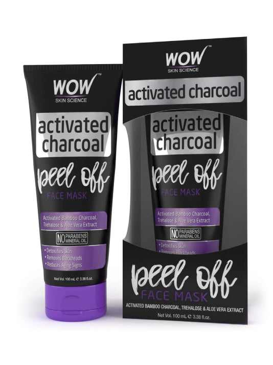 (Wow) Skin Science Activated Charcoal Face Mask(100ml)