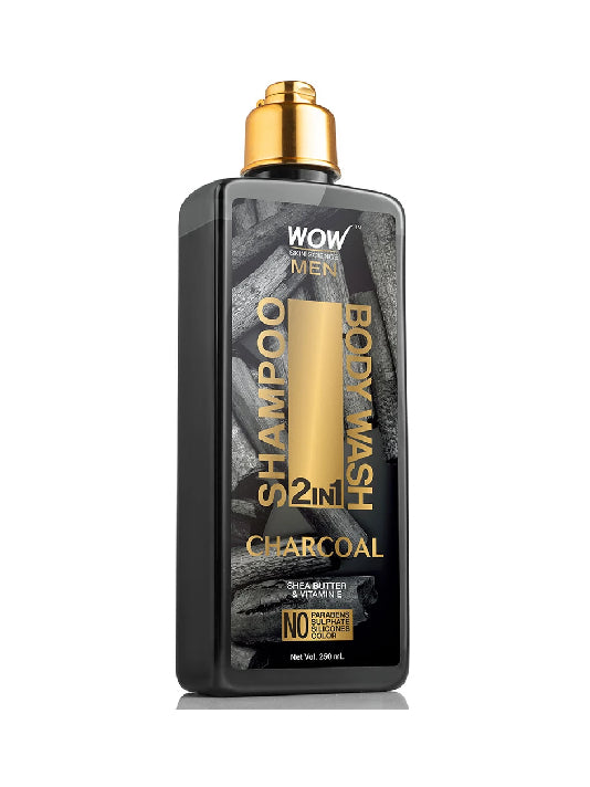 (Wow) Skin Science Charcoal 2-In-1 Shampoo(250ml)