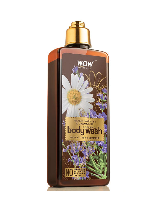 (Wow) Skin Science French Lavender & Chamomile Foaming Body Wash(250ml)
