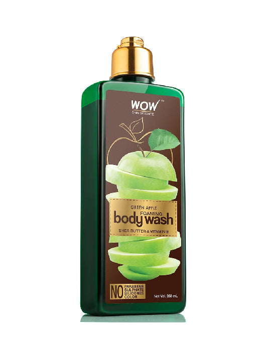 (Wow) Skin Science Green Apple Foaming Body Wash (250ml)