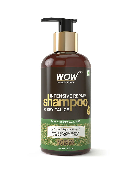 (Wow) Skin Science Intensive Repair & Revitalize No Parabens, Sulphate & Silicone Shampoo (300ml)
