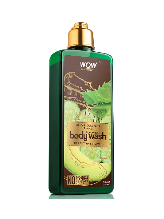 (Wow) Skin Science Melon, Cucumber & Aloe Foaming Body Wash (250ml)