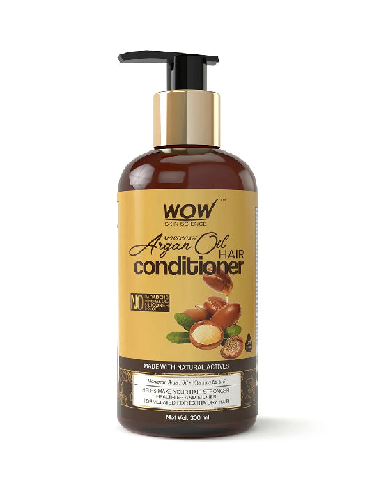 (Wow) Skin Science Moroccan Argan Oil Conditioner (300ml)