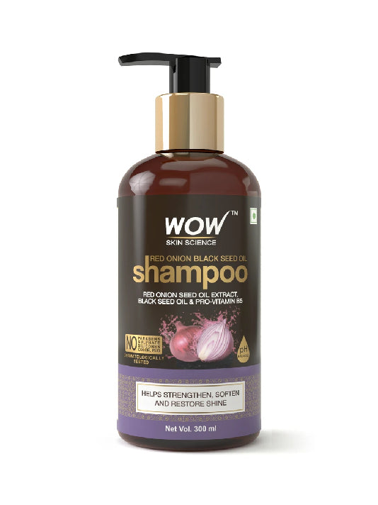 (Wow) Skin Science  Red Onion Black Seed Oil Shampoo (300ml)