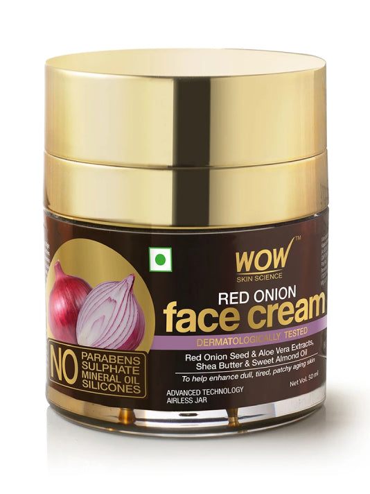 (Wow) Skin Science Red Onion Face Cream-(50ml)