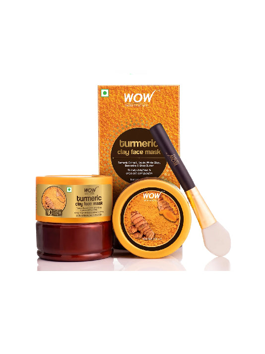 (Wow) Skin Science Turmeric Clay Face Mask (200ml)