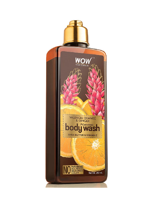 (Wow) Skin Science Valencia Orange & Ginger Foaming Body Wash (250ml)
