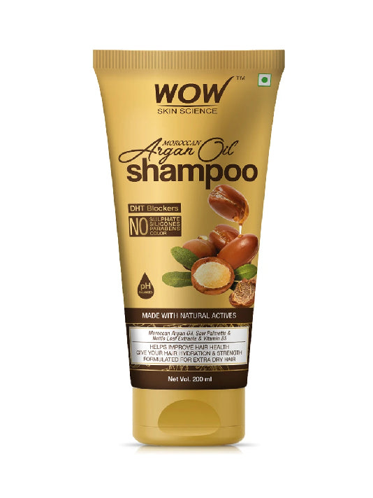 (Wow) Skin Science Moroccan Argan Oil Shampoo(200ml)