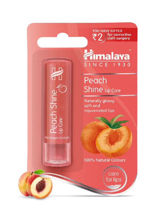(himalaya) Peach Shine Lip Care (4.5g)