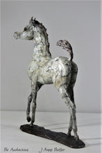 Load image into Gallery viewer, Bronze foal sculptures