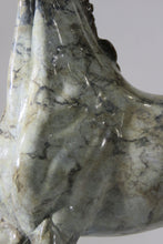 Load image into Gallery viewer, Grey dappled bronze patina
